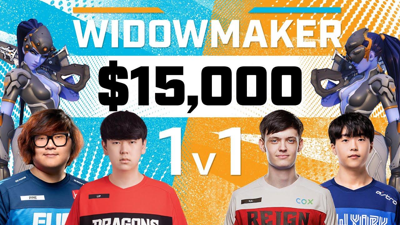 $15,000 Widowmaker 1v1 Tournament   Pine, Lip, Kai, Gwangboong   June Joust