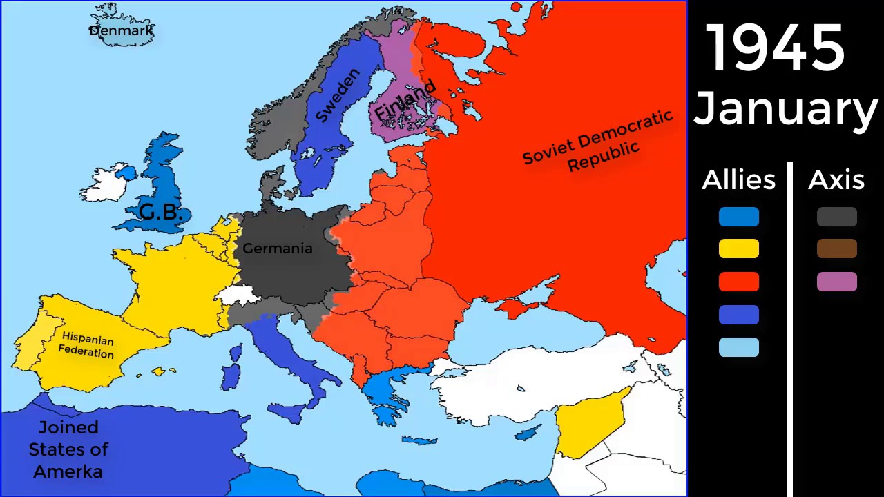 Alternative Past Of Europe Ww2 Youtube