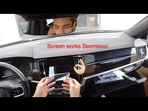 NEW Volvo Sensus Touch Screen Protector Review 2017 2020 S90 S60 XC40 XC60 XC90 V90 V60