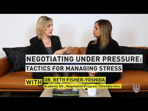 Dr. Beth Fisher-Yoshida: Tactics For Managing Stress