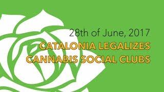 Cannabis Social Clubs legalized in Catalonia (Spain)