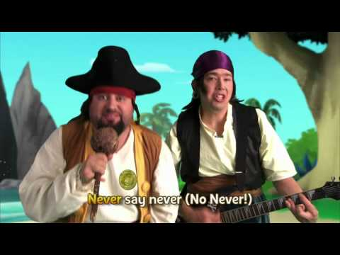 Jake and the Never Land | Pirate Band | Never Land Pirate Band Sing Along | Disney Junior