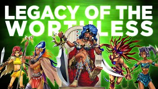 Legacy of the Worthless - Amazoness thumbnail