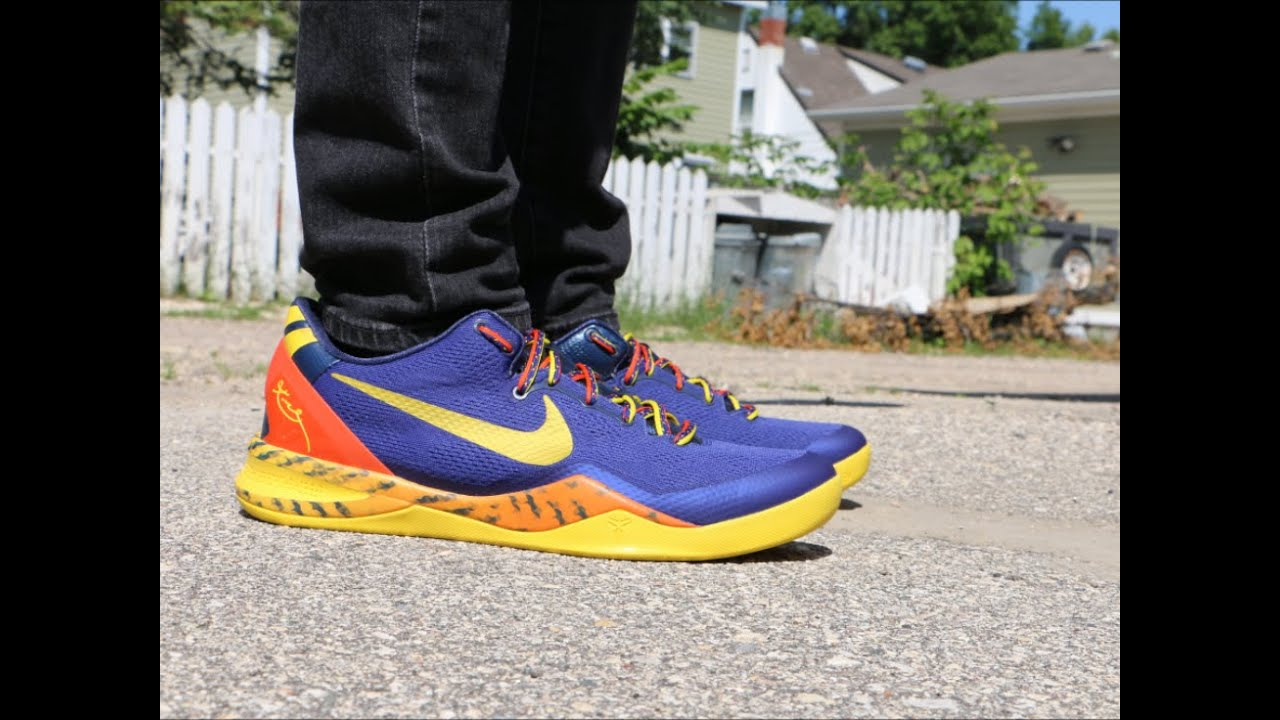 the best attitude e9ac3 89103 Nike Kobe 8 Taipan Barcelona - On Foot