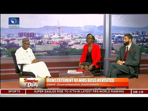 Training In NHIS Follows Due Process - NHIS Boss  |Sunrise Daily|