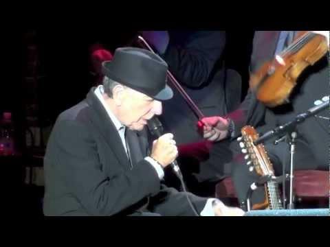 Leonard Cohen, Dance Me to the End of Love,  Verona Arena, 24-09-2012