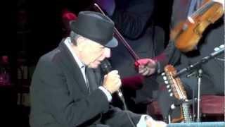 Скачать Leonard Cohen Dance Me To The End Of Love Verona Arena 24 09 2012