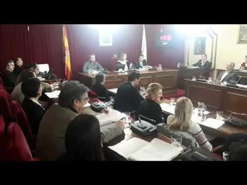 Pleno do Concello de Lugo sobre os orzamentos municipais