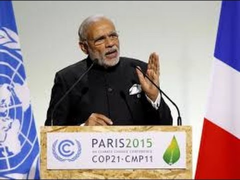 Narendra Modi to UN Climate Summit, Paris- Leave Space for Developing Nations-