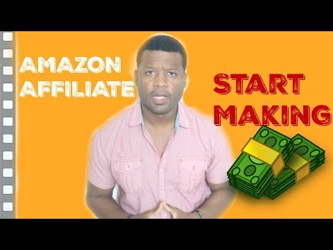 Amazon Affiliate Marketing - How To Start Making Money Even As A Beginner thumbnail