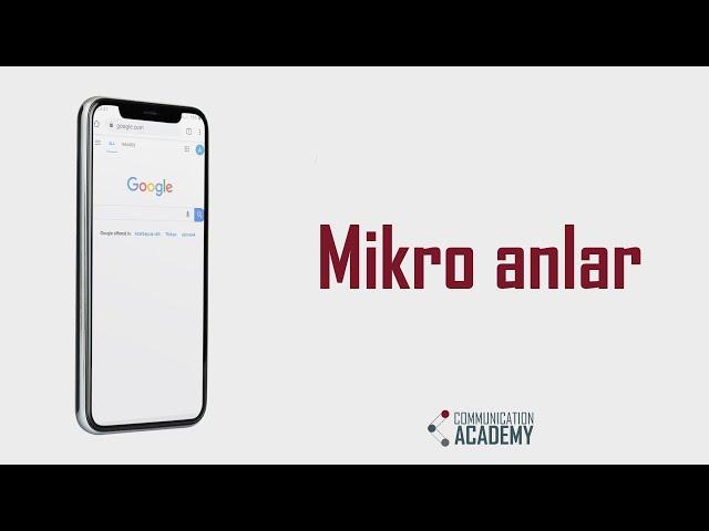 Mikro Anlar (Micro Moments)