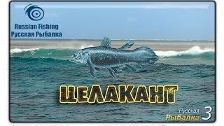 Русская рыбалка 3.99 Целакант (Эксклюзивное видео).