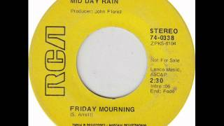 Mid Day Rain -- Friday Mourning ( 1970, Psych Pop, USA )
