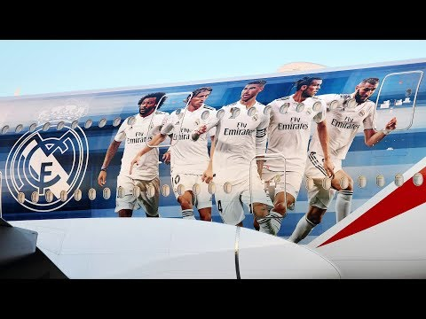 Presenting the new Real Madrid A380 | 2018 | Emirates Airline