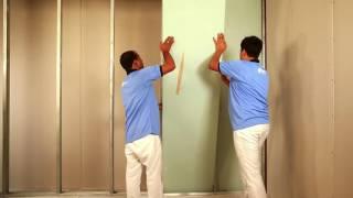 Saint gobain Gyproc Lift shaft wall installation process