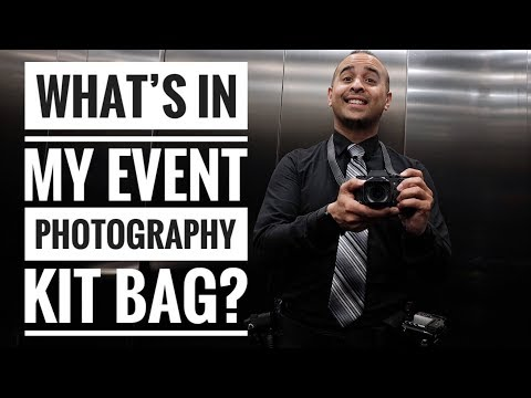 What's In My Event Photography Kit Bag?