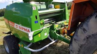 Prasa stało komorowa  Sipma PS  Farma Plus 1211 z ursus 1224 , 120km