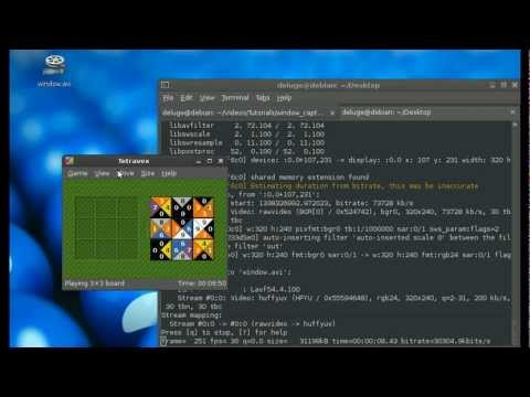 Recording a Window with FFmpeg (X11)