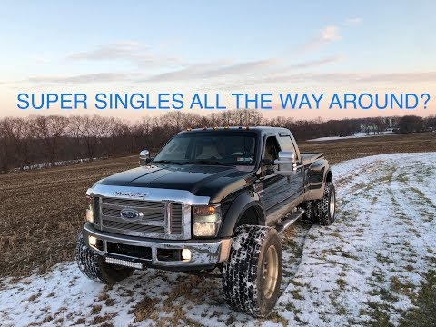 F450 GETS SUPER SINGLES! I THINK I'M GETTING 2 MORE???