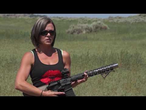 Witt Machine Integrally Suppressed AR15 300 Black Out Upper with Jessie