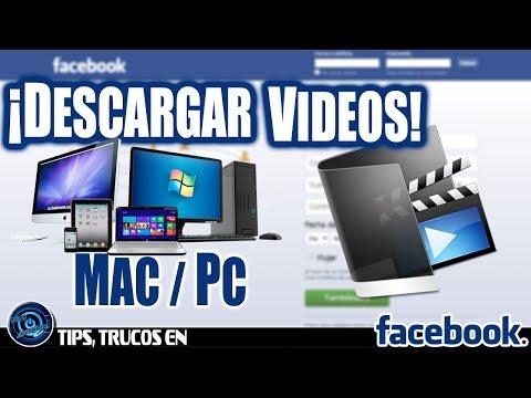 COMO BAJAR VIDEOS DE FACE EN PC O MAC