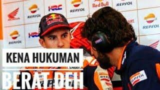 Pembelaan Marquez Usai Kena 3 Hukuman di MotoGP Argentina