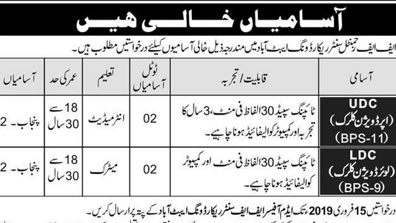 Pak army new Civilian Jobs 2019 | Pak Army jobs after Matric | PAK Army  jobs after FA/FSC | New Jobs