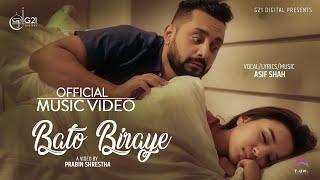 Asif Shah - Bato Biraye (Official Music Video) ft. Alisha Rai | New Nepali Song 2019