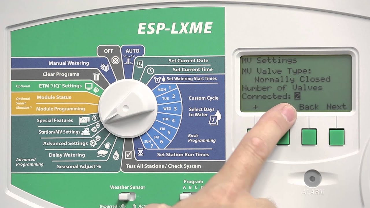 hight resolution of installing and programming a pump start relay using an esp lxme youtube