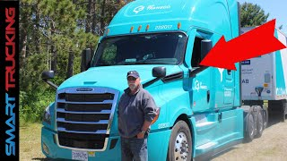 2022 Freightliner Cascadia Tour (Exterior, Interior and Oh, That Digital Dash!)