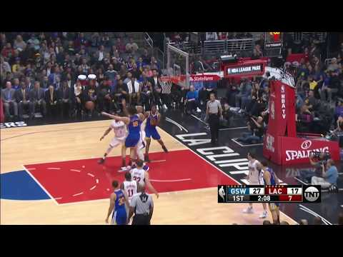 Blake Griffin Dunks Over Kevon Looney! Warriors vs Clippers