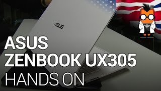 ASUS ZenBook UX305 with Intel Core M Hands on at IFA 2014