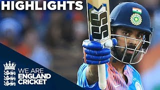 Rahul Super Century As India Show Their Class | England v India 1st Vitality IT20 2018 - Highlights thumbnail