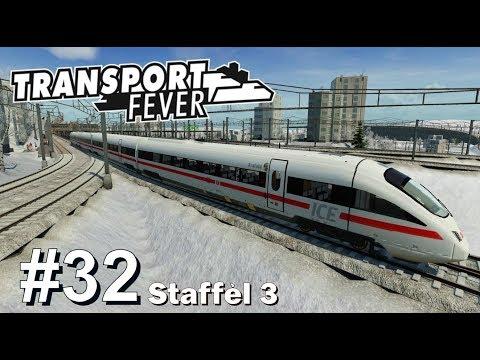 TRANSPORT FEVER S3/#32: Mitfahrt mit dem ICE TD Diesel [Let's Play][Gameplay][German][Deutsch]