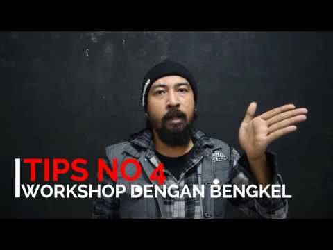 10 TIPS MODIFIKASI MOTOR CUSTOM - talk show coffee racer part 4 - HOST joddie rose