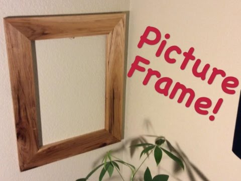 Super Easy Picture Frame! | DIY Project