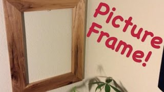 Super Easy Picture Frame! | DIY Project Video