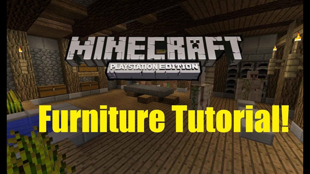 Minecraft ps3 furniture ideas make your house look for Furniture 4 your home