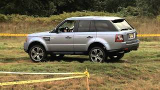 First Test Drive Of The Land Rover Range Rover Sport Supercharged With Nik J. Miles At Mud Fest