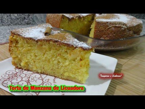 TORTA DE MANZANA DE LICUADORA receta facilita