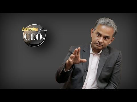 What is your leadership style?  by Tiger Tyagarajan, President and CEO of Genpact