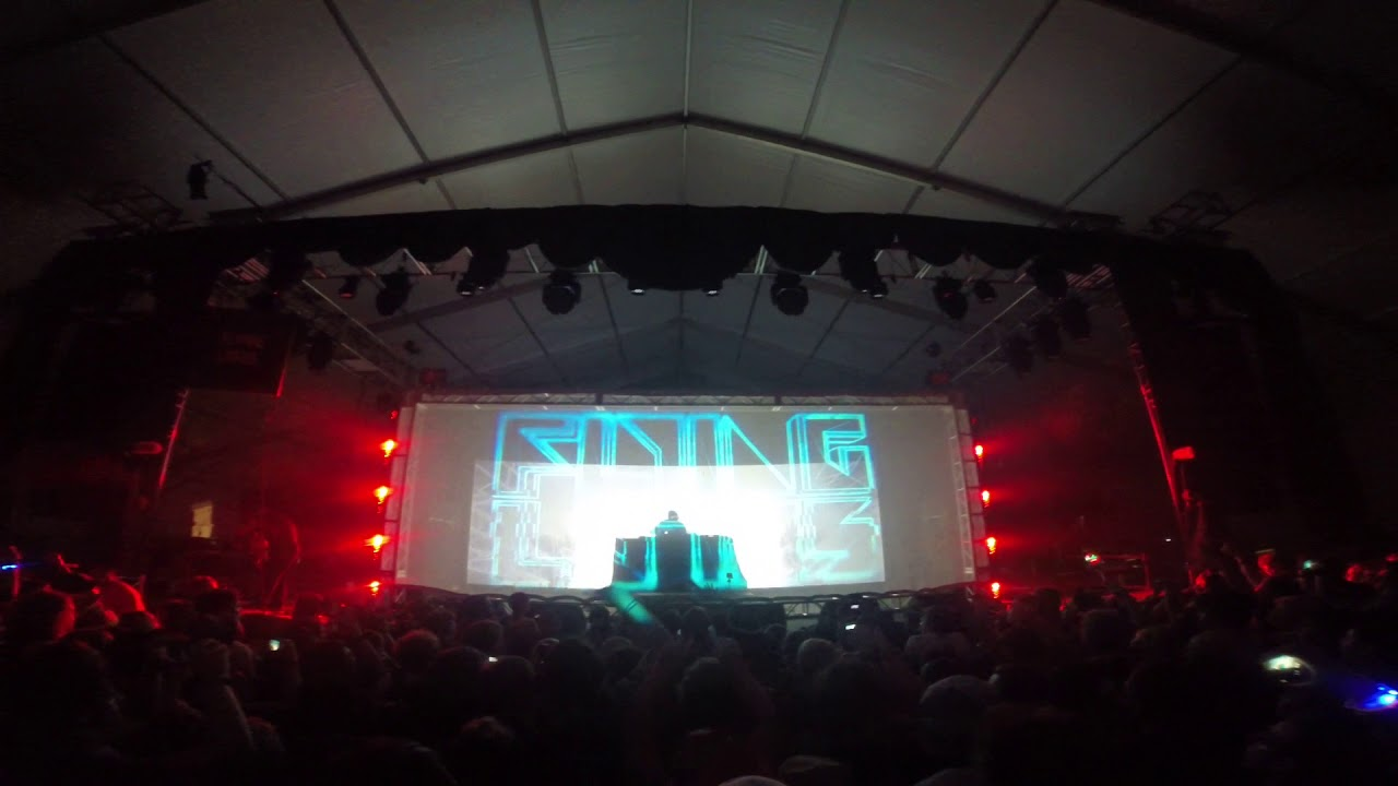 Flying Lotus Late Night Bonnaroo 2015 first seven minutes #1
