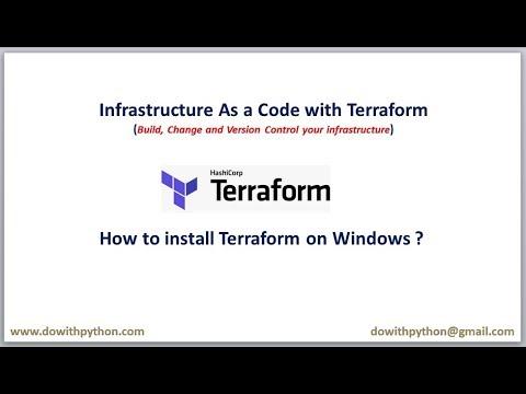 Terraform Tutorials | How to install terraform on Windows ?