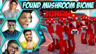 Gamers when they found Mushroom Biome in mincraft 🔴 Gamerfleet, rawknee,matgonian, onespot, smarty