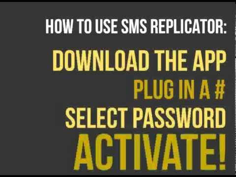 SecretSMSReplicator: Spy On Text Messages (Android)