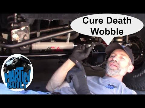 How To Find And Cure Death Wobble Jeep Xj Zj Tj And More Youtube