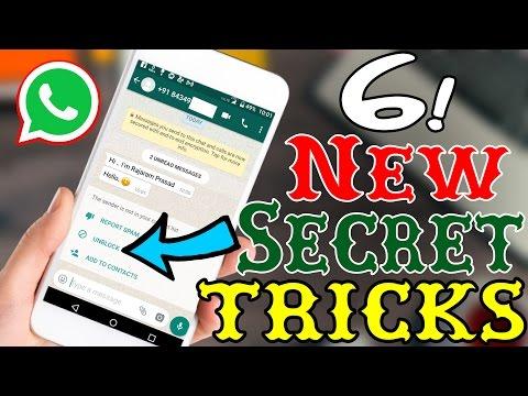 6 New WhatsApp Tricks 2017 You Should Know