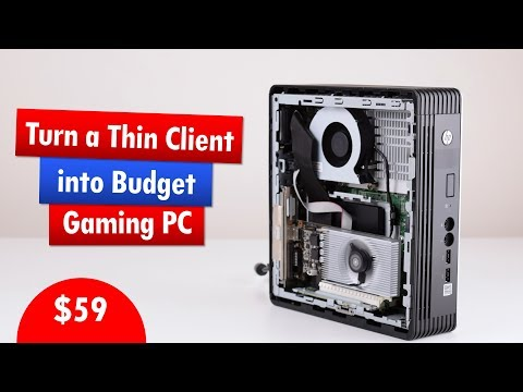 Would an HP T610 Thin Client make a decent retro gaming