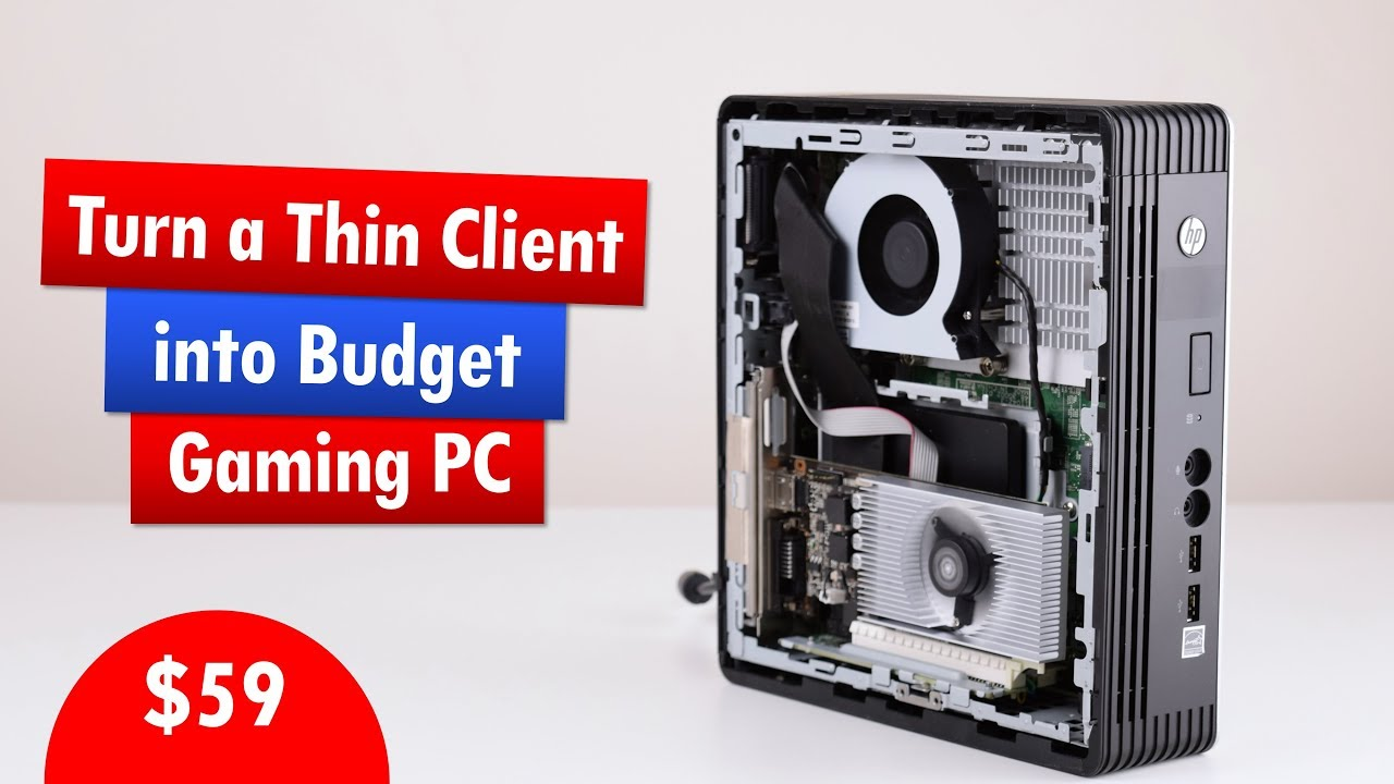 Turn HP T610 Plus Thin Client into Retro Gaming PC