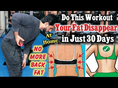 How To Lose Back Fat Fast For Females Hindi Urdu